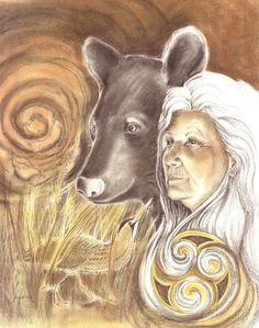 Goddess Artio cave entity