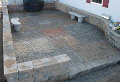 brick pavers patio