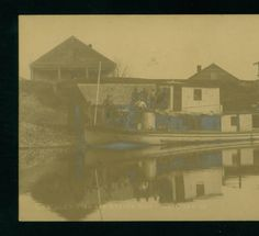 Lerilles Fish and Oyster Shop, Lockport, La :: 1907-1908? LSU Libraries Postcard Collections