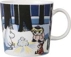 This is a complete list of all Arabia Moomin Mugs from the fist Moomin Mugs in 1990 and all the way to 2019 and forward. Moomin Mugs, Tove Jansson, Mug Designs, Illustration Art, Illustrations, Ceramics, Tableware, Finland, Christmas
