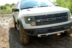 2013 Ford Raptor : Made to Have Mud on the Tires This Grille ROCKS #FordTX