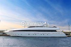 Stock-Foto : Luxury yacht