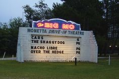 "Off U.S. 1 between Aiken and Columbia sits the ""The Big MO"" Monetta Drive-In Theatre, (803) 685-7949; 5822 Columbia Hwy., Monetta."