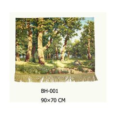 Beautiful painted tapestry mural wall decorative painting cloth big tree,90x70cm,BH-001
