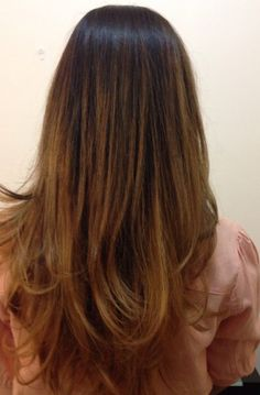 Ombré colour by malkonyan balyage look hair style