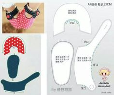 Baby Shoes Diy Crafts Sewing Patterns New Ideas Doll Shoe Patterns, Baby Shoes Pattern, Baby Clothes Patterns, Baby Patterns, Sewing Patterns, Pattern Fabric, Baby Boy Shoes, Baby Boots, Couture Bb