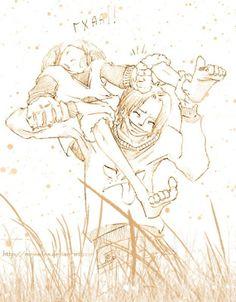 One Piece Luffy X. Ace | Ace_X_Luffy_4_by_meissdes - one piece - sabdu69290 - Photos - Club ...