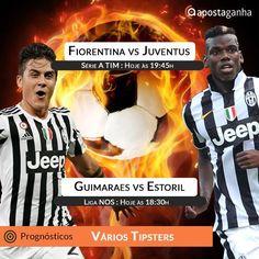 Fiorentina e Juventus fazem o grande encontro da série A Tim deste domingo. Confere os prognósticos:  http://www.apostaganha.com/2016/04/23/prognostico-apostas-fiorentina-vs-juventus-serie-5539/  http://www.apostaganha.com/2016/04/24/prognostico-apostas-fiorentina-vs-juventus-serie-501243/  http://www.apostaganha.com/2016/04/24/prognostico-apostas-guimaraes-vs-estoril-liga-nos-493654/  Quer 100 euros de bonus, streams dos maiores eventos e uma casa com milhares de opções? Conheça a 1xBet…