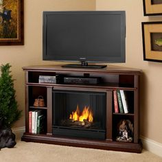 Real Flame Churchill Ventless Gel Fireplace