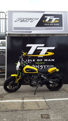 """The """"Pictures of Your Scrambler Somewhere"""" Thread Ducati Scrambler Custom, Scrambler Icon, Isle Of Man, Harley Davidson Motorcycles, Pictures Of You, Bobber, Motorbikes, Full Throttle, Chopper"""