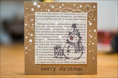 Stephanie Berger - Scrapbooking - Card Making - Stamping - Christmas Card