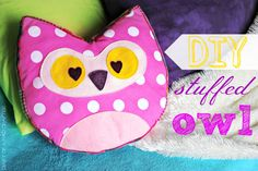 DIY Stuffed Owl