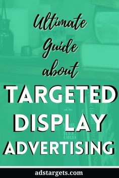 In this post, I will explain the display targeting options and the advantages of display targeting and how to effectively use display ads to benefit your business. #advertise business #business advertising ideas #advertising tips #advertising sales #direct marketing#ads design #design advertising Advertising Sales, Advertising Ideas, Display Advertising, Direct Marketing, Online Marketing, Digital Marketing, Youtube Advertising, Display Ads, Google Ads