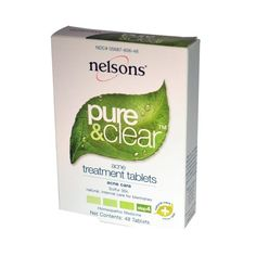 Nelsons Pure  Clear Acne Treatment Tabs 48 ct >>> Check out the image by visiting the link.