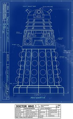 Dalek Blueprint