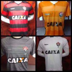 Vitória na Veia! Agora com a Topper, Vitória apresenta novos uniformes para a temporada 2017 - Vitória na Veia!