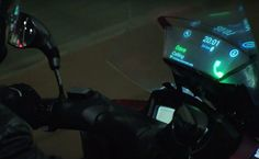 Samsung, in collaboration with Yamaha has developed a new technology - adding a smartphone-connected display to the windshield of a motorcycle. The 'smart' windshield displays notifications like calls and texts on a head-up display on the screen, with the software designed to be hands-free.