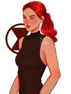 Marvel Fan Art, Marvel Avengers, Marvel Comics, Black Widow Wallpaper, Marvel Wallpaper, Marvel Women, Marvel Girls, Black Widow Drawing, Black Widow Avengers