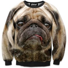 Stressed Pug Sweatshirt // Beloved Shirts