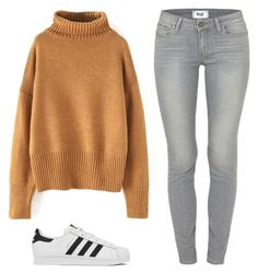 """""""Ado"""" by liveloveshopfashion ❤ liked on Polyvore featuring Paige Denim and adidas"""