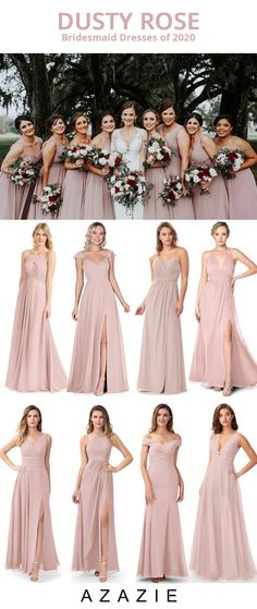 Dress your bridesmaid in this elegant dusty rose color! Available in sizes and free custom sizing! Every woman deserves their dream dress, that fits right while still being budget friendly! Dusty Rose Bridesmaid Dresses, Dusty Rose Dress, Bridesmaid Dress Colors, Azazie Bridesmaid Dresses, Wedding Dresses, Bridesmaids, Maid Of Honour Dresses, Maid Of Honor, Dream Dress
