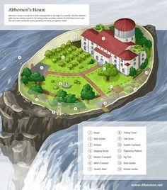 "Abhorsen's House   The Old Kingdom Series   Abhorsen Trilogy   ""Abhorsen's House""by Robin K Herman"