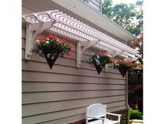 The wooden pergola is a good solution to add beauty to your garden. If you are not ready to spend thousands of dollars for building a cozy pergola then you may devise new strategies of trying out something different so that you can re Garage Pergola, Pergola Patio, Backyard Patio, Backyard Landscaping, Pergola Kits, Pergola Ideas, Cheap Pergola, Modern Pergola, Shed Awning Ideas