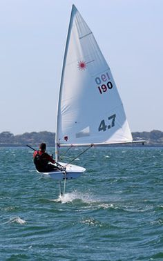 capsizing a sailboat   laser sailboat capsized   Things I love ...