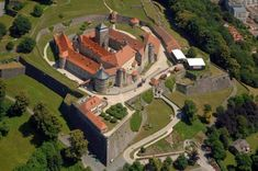 Festung Rosenberg - © Nürnberg Luftbild, Hajo Dietz / Lucas-Cranach-Stadt Kronach