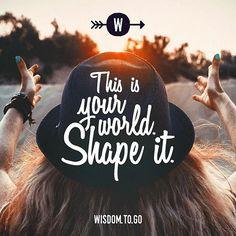 #quote #quotes #wisdomtogo #wisdom #success #world #quoteoftheday #quotesaboutlife #sayings #life #quoteoftheday #think #typography #design #illustration #motivation #bestquotes #yourworld #shapeit #inspire #inspiration #motivationalmonday #motivationalquotes #inspirationalquotes