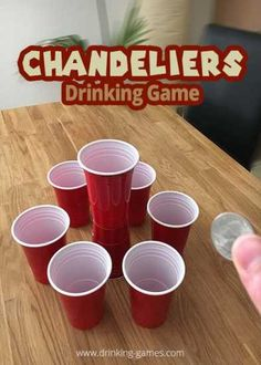 Chandeliers coin drinking game rules drinking games chandeliers coin drinking game rules and how to play chandeliers coin is a familiar drinking game where players throw coins to put them in drinking cup mozeypictures Images