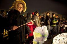 WWF Earth Hour event 2012, Berlin in front of the Brandenburger Tor - Foto: (c) David Biene - http://earthhour.wwf.de/