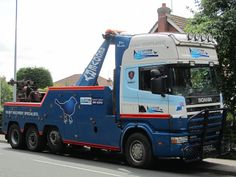 Scania 144G - Sparrow Recovery
