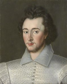 NPG: 'Probably Sir Robert Dudley'. This is Leicester's son, Robert Dudley II.