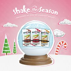 This globe is the gift that keeps on giving! #ShaketheSeason with @Harvestsnaps and you could win BIG! Pick, Click, Shake, and Share!  http://bit.ly/shaketheseason