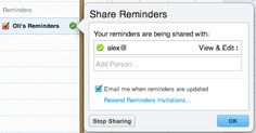 How to Share Reminders From iPhone or iPad on iOS 5 Using iCloud