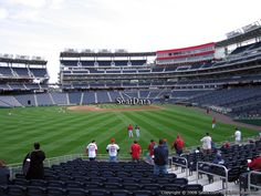 #nats This is Section 103 at Nationals Park. This is where NatsSeekers going to be at next Tuesday. If you're a job seeker, it is free to attend. For recruiters/HR/Hiring managers, the price is reasonable and a great chance to network. Register here: http://natsseekers2012.eventbrite.com/