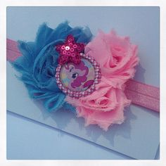 My little pony baby headband/ baby headband by natortiz23 on Etsy, $5.00