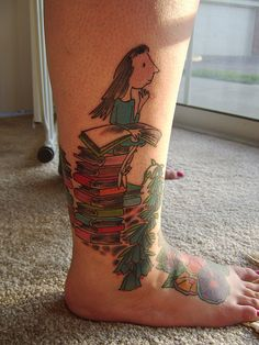 I think it's retard, because that's verry werd! You, do you want to have Mathilda on your leg forever? I don't think so.