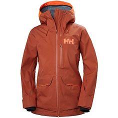 Women's Helly Hansen Aurora Shell Jacket 2019 - X-Large Red Vest Jacket, Hooded Jacket, Jackets For Women, Clothes For Women, Outdoor Wear, Snow Pants, Columbia Sportswear, Helly Hansen