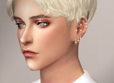 Piercing nose hoop cas Ideas for 2019 The Sims 4 Pc, Sims 4 Mm Cc, Sims 4 Cas, Sims 4 Piercings, Cute Ear Piercings, Sims 4 Gameplay, Sims 4 Update, Nose Hoop, Sims 4 Cc Finds