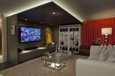 Design de interiores: Andre Alf #iluminacao #lightingdesign #LightDesignExporlux #arquitetura #designinteriores #decoracao #luzindireta #MostraArtefacto