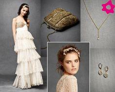 Vestidos de novia vintage. #vestidos #novia #boda