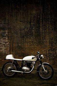 "500px / Photo ""Honda cb360 Cafe"" by Matthew Heck"