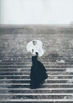 shot by Karl Lagerfeld at Versailles. One of my favorite photographs