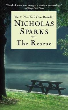 The Rescue by Nicholas Sparks, not finished with it yet but I'm already in love :)