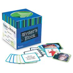 Reach in and grab a card to spark creativity early in the writing or oral storytelling process. Includes over 150 engaging ideas! Features 86 double-sided prompt cards color-coded by subject (language