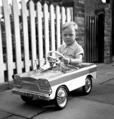 Luxury Motor | vintage kids photo