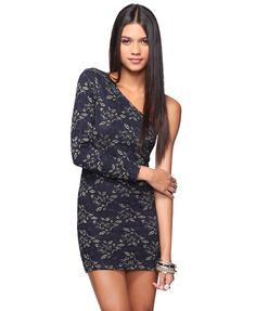 metallic lace dress from forever 21