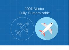 Business Travel Icon Pack by YT Design on @creativemarket